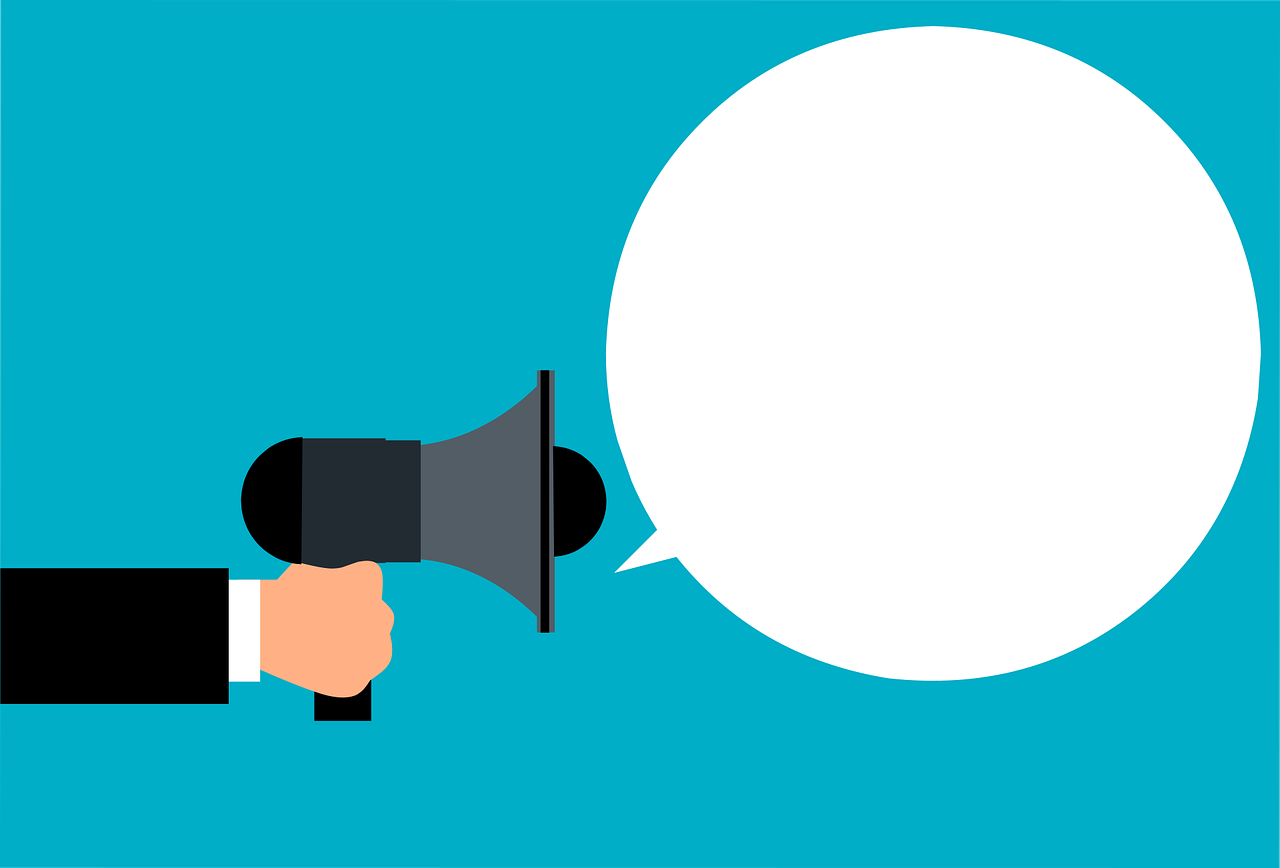 Marketing Megaphone Advertisement  - mohamed_hassan / Pixabay